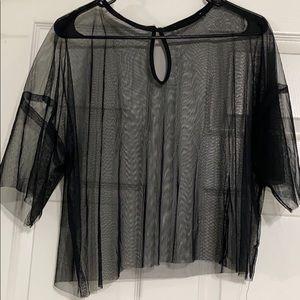 mesh Forever 21 Shirt